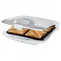 Clatronic ST3325 Wit-Zilver Sandwichmaker